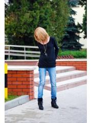 bluza Honey - kolor CZARNY