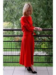 sukienka ADELA - kolor CZERWONY
