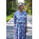 sukienka JADE - kwiaty moro