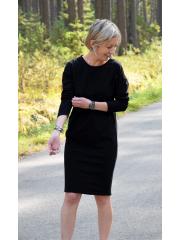 EDITH - Baumwoll-Midi-Kleid