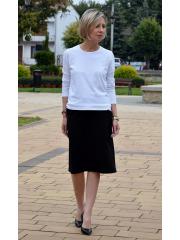 POLA - trapezoidal skirt with pockets
