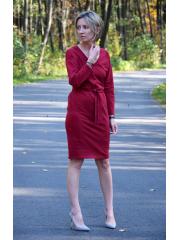 sukienka DARCY - kolor BORDO