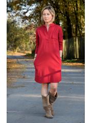 sukienka SAHARA - kolor BORDO