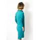 sukienka SAHARA - kolor TURKUS