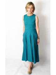 sukienka AUDREY - kolor TURKUSOWY