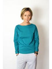 bluzka LONS - kolor turkus