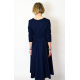 sukienka BLANKA - kolor GRANATOWA