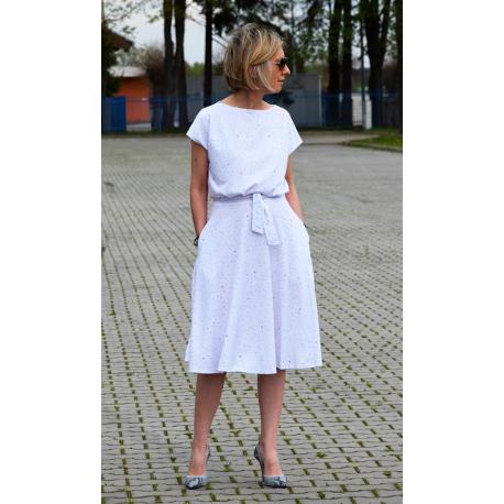 sukienka LUCY - kolorowe kropki