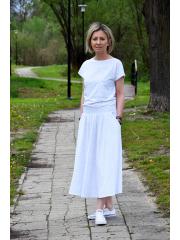 spódnica ALMA - kolorowe kropki