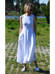 sukienka AUDREY - KOLOROWE KROPKI