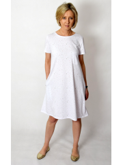 sukienka LATIKA - kolorowe kropki