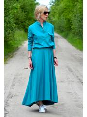 sukienka JADE - turkusowa