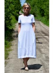 sukienka MILANO - kolorowe kropeczki