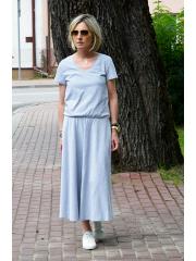CORA - Baumwollkleid mit V-Ausschnitt