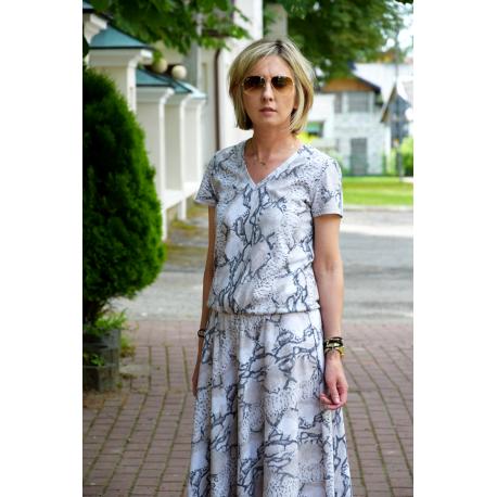sukienka CORA - SNAKE