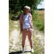 JUDERSY - Women's sports pants - dirty pink