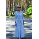 sukienka KARLA - kolor SZARY