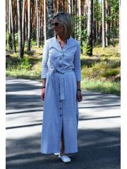 KARLA - Kleid mit Stehkragen