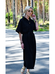 IGA - buttoned dress with a belt
