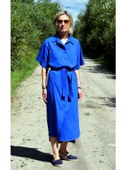 IGA - geknöpftes Kleid mit Gürtel