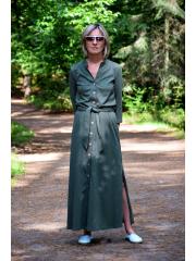 sukienka KARLA - kolor khaki