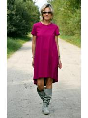 sukienka TESSA - kolor FUKSJA