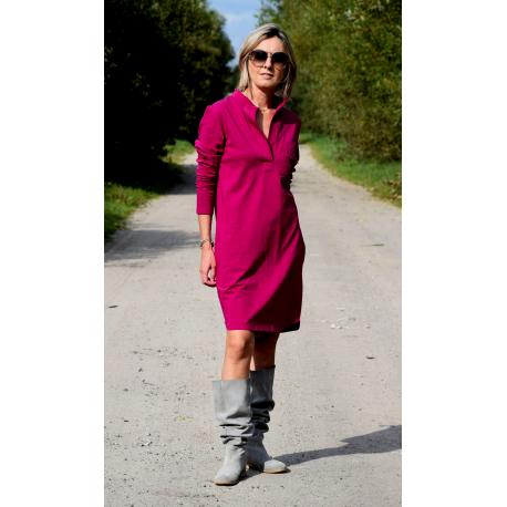 sukienka SAHARA - kolor FUKSJA