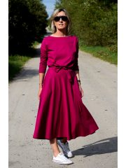 sukienka ADELA - kolor FUKSJA