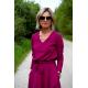 LUCY - Midi Flared cotton dress