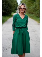 sukienka JENNIFER - kolor ZIELONY