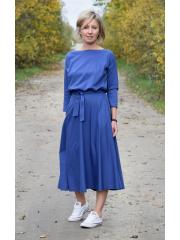 sukienka ADELA - kolor DENIM