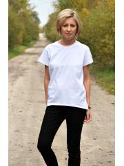 t-shirt OLA - kolor BIAŁY