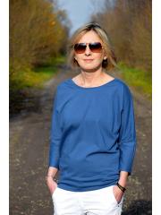 bluzka CLER - kolor DENIM