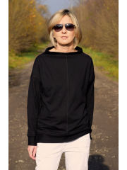 NASSA - sweatshirt with a stand-up collar