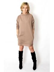sukienka NEMO - kolor MOKKA