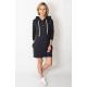 MARIO - Sweatshirt dress with a hood