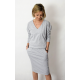 TAMARA - cotton dress with an elastic band