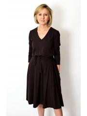sukienka JENNIFER - kolor CZEKOLADA