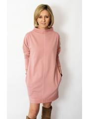 sukienka NEMO - kolor BRUDNY RÓŻ