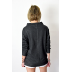 NASSA - sweatshirt with a stand-up collar