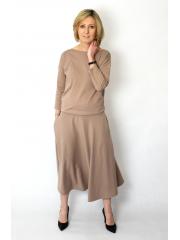 sukienka NADIA - kolor MOKKA