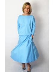 sukienka NADIA - kolor BŁĘKIT