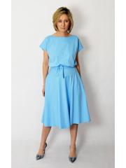 sukienka LUCY - kolor BŁĘKIT