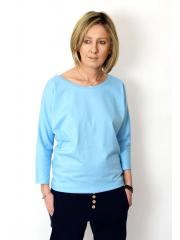 bluzka CLER - kolor BŁĘKIT