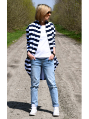 HANNAH - cotton sweatshirt with locks for women
