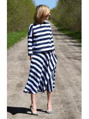 sukienka NADIA - BI/GRAN PASY