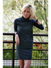 ICE - Cotton dress with golf