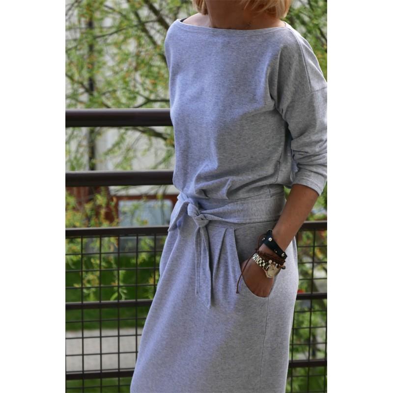b124abece3 NINA - Cotton maxi belt dress - Sisters (www.shopsisters.eu)