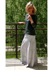 GESTRICKTE LONG SKIRT - LULU