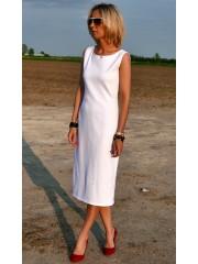 sukienka SOFI - kolor BIAŁY